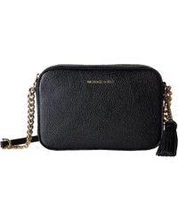 MICHAEL Michael Kors - Ginny Medium Camera Bag (pearl Grey) Bags - Lyst