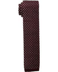 Lauren by Ralph Lauren - Birdseye Knit Tie (navy) Ties - Lyst
