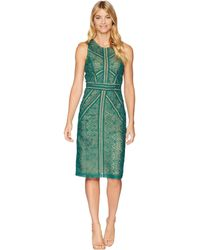 Bardot - Eve Lace Dress (wild Green) Women's Dress - Lyst