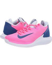 cc3d84d9ecc7 Nike - Court Air Zoom Zero Hc (pink Blast indigo Force half Blue