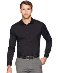 Calvin Klein - The Stretch-cotton Shirt (black) Men's Clothing - Lyst