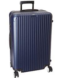 Rimowa - Salsa - 29 Multiwheel(r) (matte Blue) Luggage - Lyst