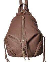 Rebecca Minkoff - Medium Julian Backpack (almond 1) Backpack Bags - Lyst