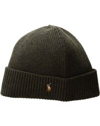 Polo Ralph Lauren | Signature Merino Cuff Hat | Lyst