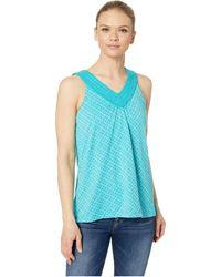 Aventura Clothing - Gracyn Tank Top (lake Blue) Women's Sleeveless - Lyst