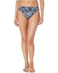 bfa585f0e2712 MICHAEL Michael Kors - Sweetheart Paisley High-waisted Bikini Bottoms  (black) Women s Swimwear