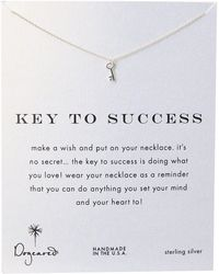 Dogeared | Key To Success Necklace 16"