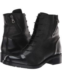 La Canadienne - Manning (black Leather) Women's Dress Lace-up Boots - Lyst