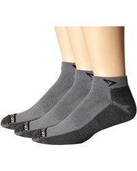 Drymax Sport - Lite Trail Running Mini Crew 3-pack (ellite Red/black) Crew Cut Socks Shoes - Lyst