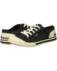 Rocket Dog - Jazzin (charcoal Squad) Women's Lace Up Casual Shoes - Lyst