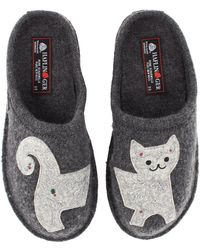 Haflinger - Lizzy (grey) Women's Slippers - Lyst