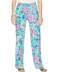 Lilly Pulitzer - Lorena Breezy Palazzo (multi Salt In The Air) Women's Casual Pants - Lyst