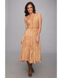 Scully - Honey Creek Amelie Dress (beige) Women's Dress - Lyst