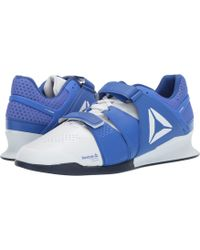 084a478f5e06b9 Reebok - Legacy Lifter (white crushed Cobalt collegiate Navy) Men s Shoes -