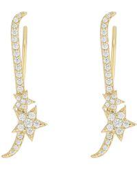 Shashi - Shooting Star Ear Climbers Earrings - Lyst