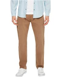 7 For All Mankind - The Straight Tapered Straight Leg W/ Clean Pocket In Rich Khaki - Lyst