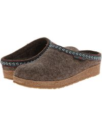 Haflinger - Gz Classic Grizzly (grey) Clog Shoes - Lyst