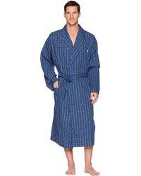 Polo Ralph Lauren - Woven Robe (soho Plaid) Men's Robe - Lyst