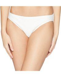 MICHAEL Michael Kors - Sea Side Texture Classic Bikini Bottoms - Lyst