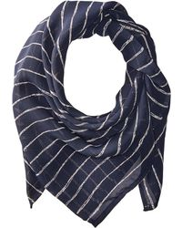 Vanessa Mooney | The Navy & White Stripe Rush Bandana | Lyst