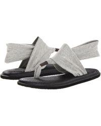 7a9ccc051680b9 Sanuk - Yoga Sling 2 (black) Women s Sandals - Lyst