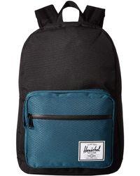 a98e2974e505 Herschel Supply Co. - Pop Quiz (raven Crosshatch) Backpack Bags - Lyst