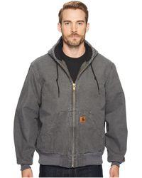 Carhartt - Qfl Sandstone Active Jacket - Lyst