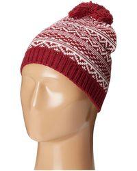 San Diego Hat Company - Knh3432 Intarsia Knit Beanie (moroccan Blue) Beanies - Lyst