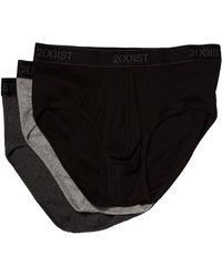2xist - 2(x)ist 3-pack Essential Contour Pouch Brief (legion Blue/tawny Port/stormy Weather) Men's Underwear - Lyst
