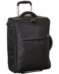 Lipault - 0% Pliable 22 Upright (purple) Carry On Luggage - Lyst