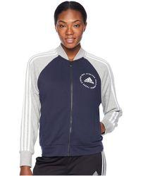 adidas - Sport Id Bomber (black) Women's Coat - Lyst