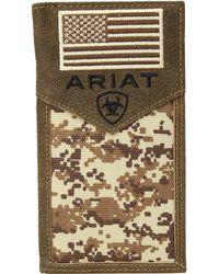 Ariat - Sport Patriot Rodeo Wallet - Lyst