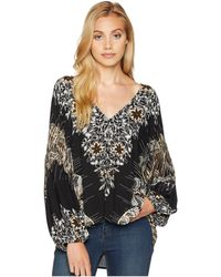 Free People - Birds Of A Feather Top (red) Women's Clothing - Lyst