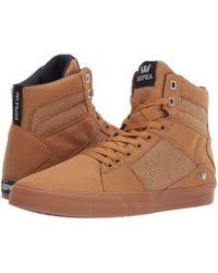 cfcb6ccdeef4 Lyst - Supra Aluminum (grey light Grey white) Men s Skate Shoes in ...