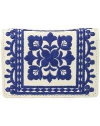 Brighton   Casablanca Garden Embroidered Card Case   Lyst