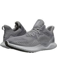 adidas Originals - Alphabounce Beyond (grey Four/carbon/dark Grey Heather Solid Grey) Men's Running Shoes - Lyst