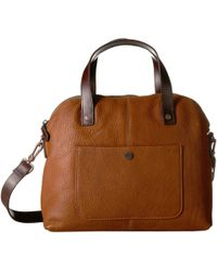 Pendleton - Leather Bag (tan) Handbags - Lyst