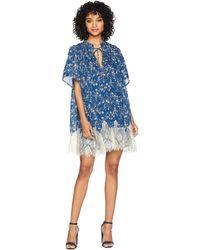 Free People - Marigold Mini Dress (navy) Women's Dress - Lyst
