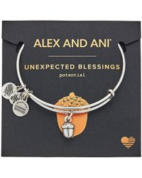 ALEX AND ANI - Path Of Symbols - Unexpected Blessings Ii Bangle - Lyst