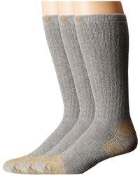 Carhartt - Full Cushion Steel Toe Cotton Work Boot Socks 2-pack (gray) Men's Crew Cut Socks Shoes - Lyst