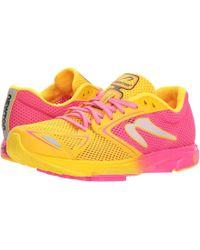 Newton Running - Distance 7 (pink/yellow) Women's Running Shoes - Lyst