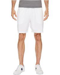 Lacoste - Stretch Taffeta Shorts - Lyst