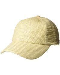 Hat Attack - Beach Baseball Cap (natural) Caps - Lyst