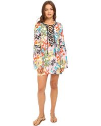 Nanette Lepore - Copa Cubana Covers Tunic Cover-up (multi) Women's Swimwear - Lyst