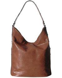 02b63f157a3c Lyst - Michael Kors Skorpios Large Shoulder Bag Desert in Brown