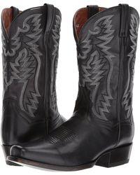 Dan Post - Centennial (black) Cowboy Boots - Lyst