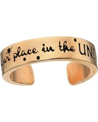 ALEX AND ANI - Wrinkle In Time - Find Your Place In The Universe Adjustable Ring - Lyst
