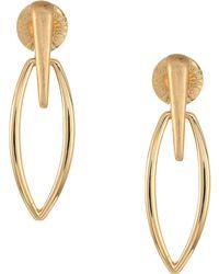 Robert Lee Morris - Gold Drop Earrings (gold) Earring - Lyst