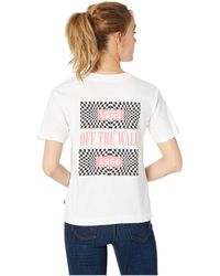 06b48a41f1 Vans - Another Dimension Tee (white) Women s Clothing - Lyst
