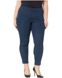 NYDJ - Plus Size Pull-on Skinny Ankle In Firesky (firesky) Women's Jeans - Lyst